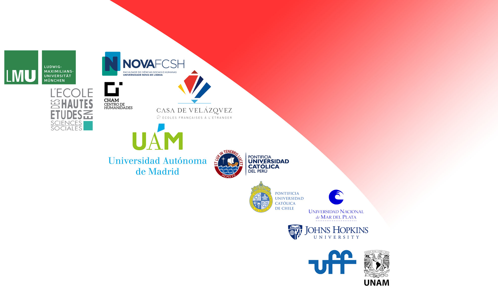 Logotipos de las instituciones participantes